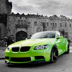 Lime Green M3 with Black wheels!
