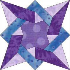 tangled star block