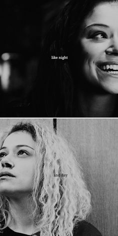 like night and day #orphanblack