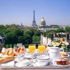 My morning in Paris