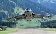 Swiss Air Force. Hunter, Hawker Aircraft, GB, 160x, 1958-1994