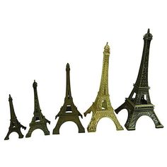 Pre Owned Eiffel Tower Souvenirs S 5 275 Liked On Polyvore Metal Figurinesmetal Homeseiffel Towersdecorative Accessorieskings