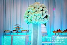 Wedding Flowers at Royal Palace Banquet Hall Glendale CA 818.502.3333
