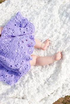 crocheted ruffle dress.