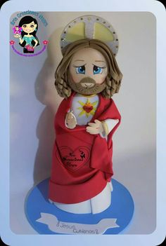 Churro Y Atole, Handmade Crafts, Diy And Crafts, Nativity Stable, Cute Eyes, Pasta Flexible, Foam Crafts, A Christmas Story, Diy Doll