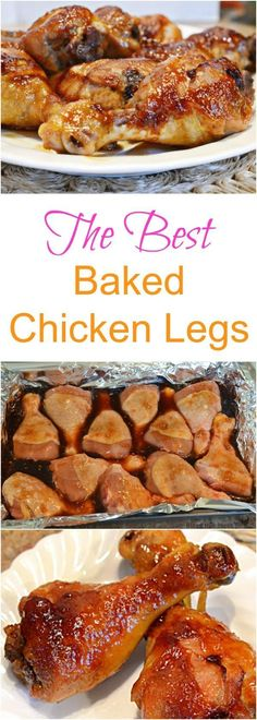The best chicken leg recipe ever (baked or slow cooker!)(There WERE good. However, they tasted like they were missing something. When I figure it out, I will edit~Nikki) UPDATE: Hot sauce or Worcester works wonders! ~Nikki