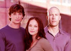 Clark, Lana and Lex - Smallville, Season Three