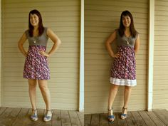 How to make your skirt longer and modest!!