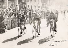 Tour de France 1938. Victory of Glauco Servadei (It.), his second win (stage 6b in Bayonne)  He will end 20th in Le Tour 1938.