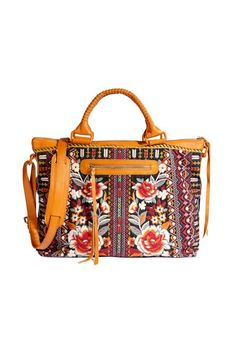 World travelers and daydreamers will adore the Jyll Overnight Tote with its exceptionally detailed embroidery and functional design. This large overnight tote boasts a black denim ground, as colorful embroidered flowers and geometric shapes dance over its Pack Your Bags, Johnny Was, World Traveler, Embroidered Flowers, So Little Time, Black And Grey, Handbags, Embroidery, Purses