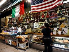 New York's best Little Italy is in the Bronx on Arthur Avenue. Try Eggplant parmagana at Mike's Deli Little Italy Nyc, The Bronx New York, Nyc Bucket List, I Love Nyc, Manhattan Nyc, Staten Island, Concrete Jungle, New York Travel, New York City