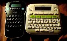 Brother P-touch D210 Calculator, Printer, Brother, Touch, Printers