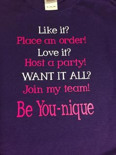 Join My Team Younique t-shirt ,Brand It Creations