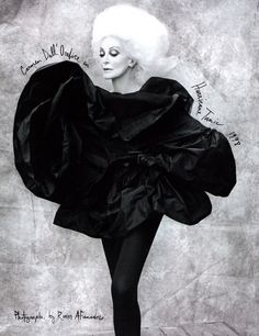 I must say I'm a little obsessed with Carmen Dell'Orefice <3