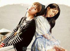 JiSoo & TaeHyung V : @ CF Filming