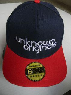Unknown Originals flat-peak snapback cap.Unknown Originals logo design on  front and Octopus design above snapback. www.theunknown-originals.co.uk 30e2e6258d0
