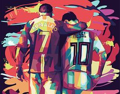 Wall Paint Inspiration, Cristiano Ronaldo Lionel Messi, Gamer Shirt, Lions, Cage, Avengers, Digital Art, Behance, Decorations