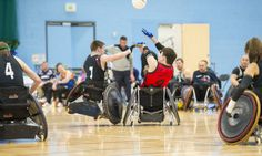 Enjoy some great sporting experiences on the DMU campus. The Leicester Tigers Wheelchair rugby team play their home matches at the QEII Leisure Centre. DMU students can join the leisure centre for as little as £15 a month! #DMU #rugby #leicestertigers
