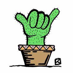 Shaktus.   #cactus #shakka #shakkas #artoftheday #artwork #instaart #instadraw #art #illustrations #illustration #conceptart #deviantart #draw #drawing #sketches #sketch