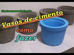 Como fazer vasos de cimento, Compartilhe esta ideia SUPER I FACIL