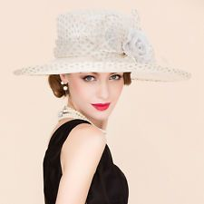 017cc253922 New Ladies Sinamay Hat wedding races ascot Occasion Formal Mother Of The  Bride Sinamay Hats