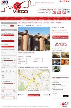 Nuevo sitio web Inmobiliaria Vieco