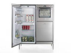 Unidad de cocina de acero inoxidable Colección Liberi in cucina by ALPES-INOX | diseño Nico Moretto