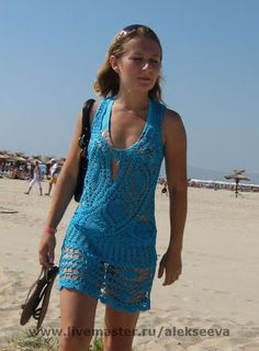 CROCHET CANDY: blue blouse