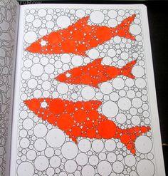#DessinsMagiques #Fish #orange @LauryRow like my page facebook here :: https://www.facebook.com/merveillesdetentesdelaury