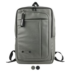 Faux Leather Backpack for Men Laptop Bag LEFTFIELD 670