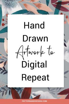If you love creating your artwork and design motifs by hand before creating you repeat patterns, then here are some tips you should consider before you start. These tricks will help speed up your design process when creating seamless pattern repeats for your surface pattern design or textile design business. #repeatpattern #patterndesign #repeat Kids Patterns, Floral Patterns, Textile Design, Fabric Design, Photoshop Tips, Inspiration For Kids, Surface Pattern Design, Geometric Designs, Repeating Patterns