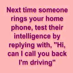 Lol that's funny.... and yes I'm totally doing this!