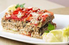 MUSACA dietetică, din LEGUME (vinete, dovlecei, roșii)