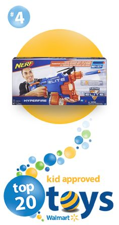 This is the fastest-firing Nerf dart blaster there is. That's important for your little ones looking for a lot of fun! #top20toys #christmaspresents #christmastoys #kidstoys #christmas  #nerfblaster #SaveMoneyGiftBetter