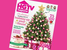 Our December issue is out! Go pink with HGTV Magazine this #holiday season! #hgtvmagazine #Christmas http://blog.hgtv.com/design/2013/11/21/happy-holidays-from-hgtv-magazines-december-issue/?soc=pinterest