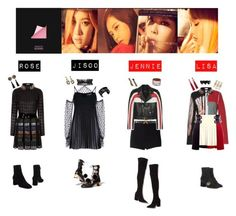 """""""BLACK PINK - PLAYING WITH FIRE❤️"""" by mabel-2310 on Polyvore featuring Martin Grant, Gucci, Dodo Bar Or, Rodarte, Chanel, J.W. Anderson, Prada, Christian Dior, FAUSTO PUGLISI and BreeLayne"""