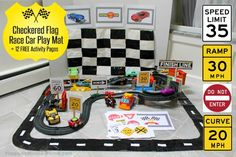 Easy-DIY-Race-Track-and-Checkered-Flag-Play-Mat-for-Race-Car-Fun-from-HappyandBlessedHome