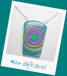 """Polymer Clay Tutorial: Mica Shift Swirl Pendants Introducing my newest tutorial """"How to Create Mica Shift Swirl Pendants"""". This is the 5th tutorial I have written about Polymer Clay te…"""