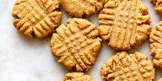 Homemade Peanut Butter Cookies, Peanut Butter Recipes, Crispy Cookies, Sweet Cookies, Sweet Treats, Whole Food Recipes, Cookie Recipes, Vegan Recipes, Vegan Foods
