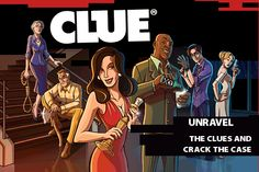 scarlet from clue - Google Search