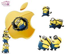 And this is why we have iPhones, minion approved. @Jessica S.