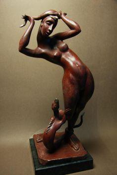 ORS - OlgaRoehl-Sculpturen Sculpturen made by high Profession and Quality Wooden People, Wood Carvings, Prague, Woodworking, Bronze, Doll, 3d, Artist, Wood Sculpture