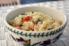 Carrot, lemon and mint rice - what a great side dish idea for easter!