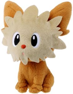 Lillipup stands at tall! Very cute and collectible Pokemon plush! Lillipup is a tan-colored, dog-like Pokemon. It has large eyes and a red nose Pokemon Dolls, Pokemon Plush, Play Pokemon, Pikachu, Pokemon Stuff, Pokemon Images, Pokemon Pictures, Kid Kakashi, Pokemon Eevee Evolutions