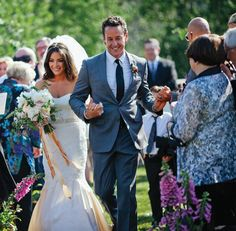 Real Weddings: Rustic Redefined Celebrity Makeup, Bride Groom, Real Weddings, Rustic Wedding, Wedding Dresses, Celebrities, Artist, Beauty, Fashion