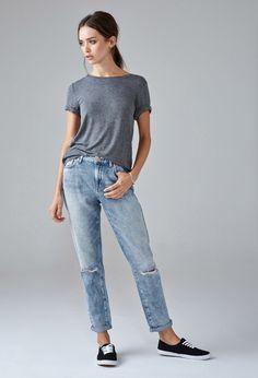 Girlfriend Jeans • Forever 21