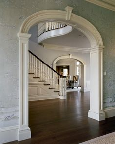 Douglas VanderHorn Architects | Entry Halls and Stairs