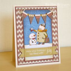 May your holidays be filled with Joy by Torico - Cards and Paper Crafts at Splitcoaststampers