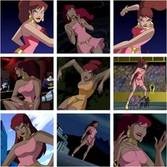 Justice League Unlimited: Giganta Bruce Timm, Dc Animated Series, Justice League Animated, Comic Book Girl, Dc Movies, Super Hero Costumes, Comics Girls, Arte Floral, Justice League