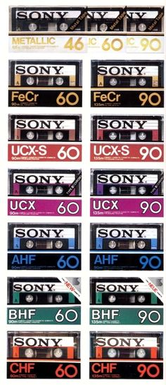 Sony Cassette around 1982